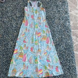 Lilly Pulitzer sailboat Maxi